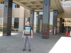 Im Bürogebäude Kiewit Plaza hat Warren Buffett einige Räumlichkeiten für seine Holding Berkshire Hathaway angemietet.