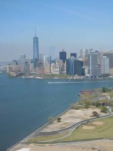 Foto der Skyline von New York City
