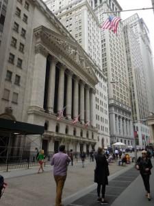 Außenansicht der New York Stock Exchange