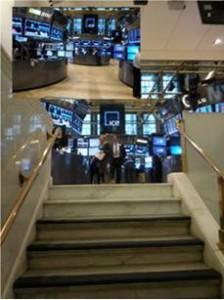 Erster Blick auf das NYSE-Parkett