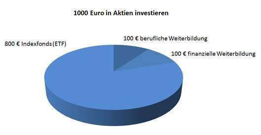 : 1000 Euro in Aktien investieren – das wäre mein Vorgehen