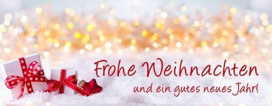 Frohe Weihnachten - gutes neues Jahr