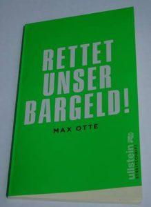 """""""Rettet unser Bargeld"""" als Kompendium zum Bargelderhalt"""