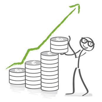 Lernen Sie die 4 Phasen des Sparens kennen und profitieren Sie von diesem Wissen.